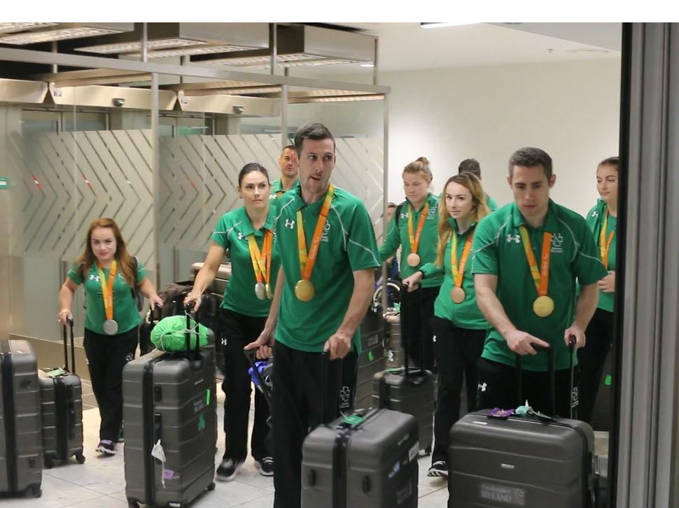 Paralympians Return