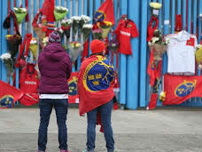Tributes At Thomond For Rugby Great