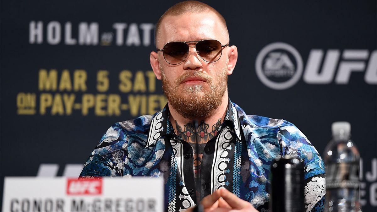 McGregor says he'll vacate belt if he wins in New York