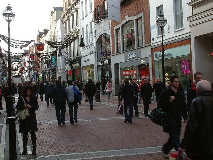 Work Begins In Dublin For Christmas
