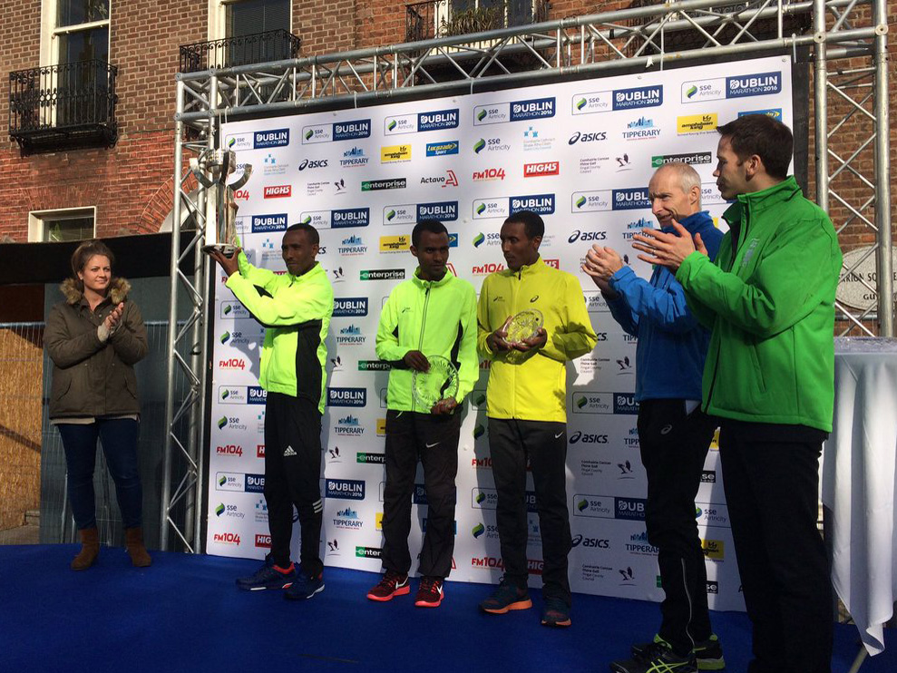 Tulu too fast for the rest at the SSE Airtricity Dublin Marathon
