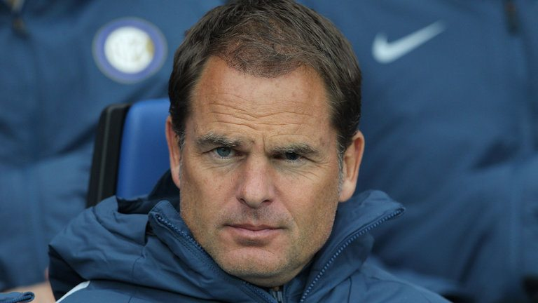 De Boer sacked as manager of Inter Milan