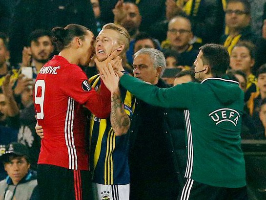 Zlatan Ibrahimovic could be in trouble with UEFA
