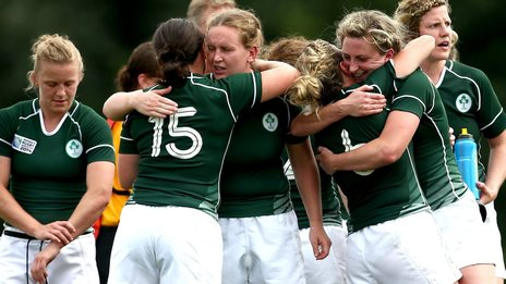 Irish ladies handed tough World Cup pool