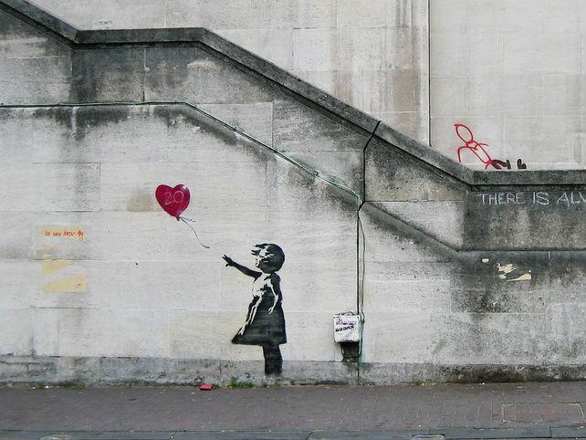 Banksy Comes To Dublin