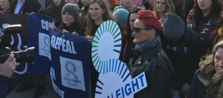 Abortion Rights Campaigners Stage City Demo