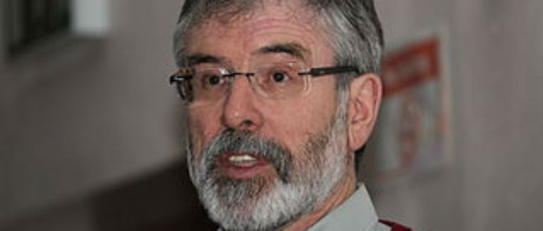 Gerry Adams Has His Say On Stack Controversy
