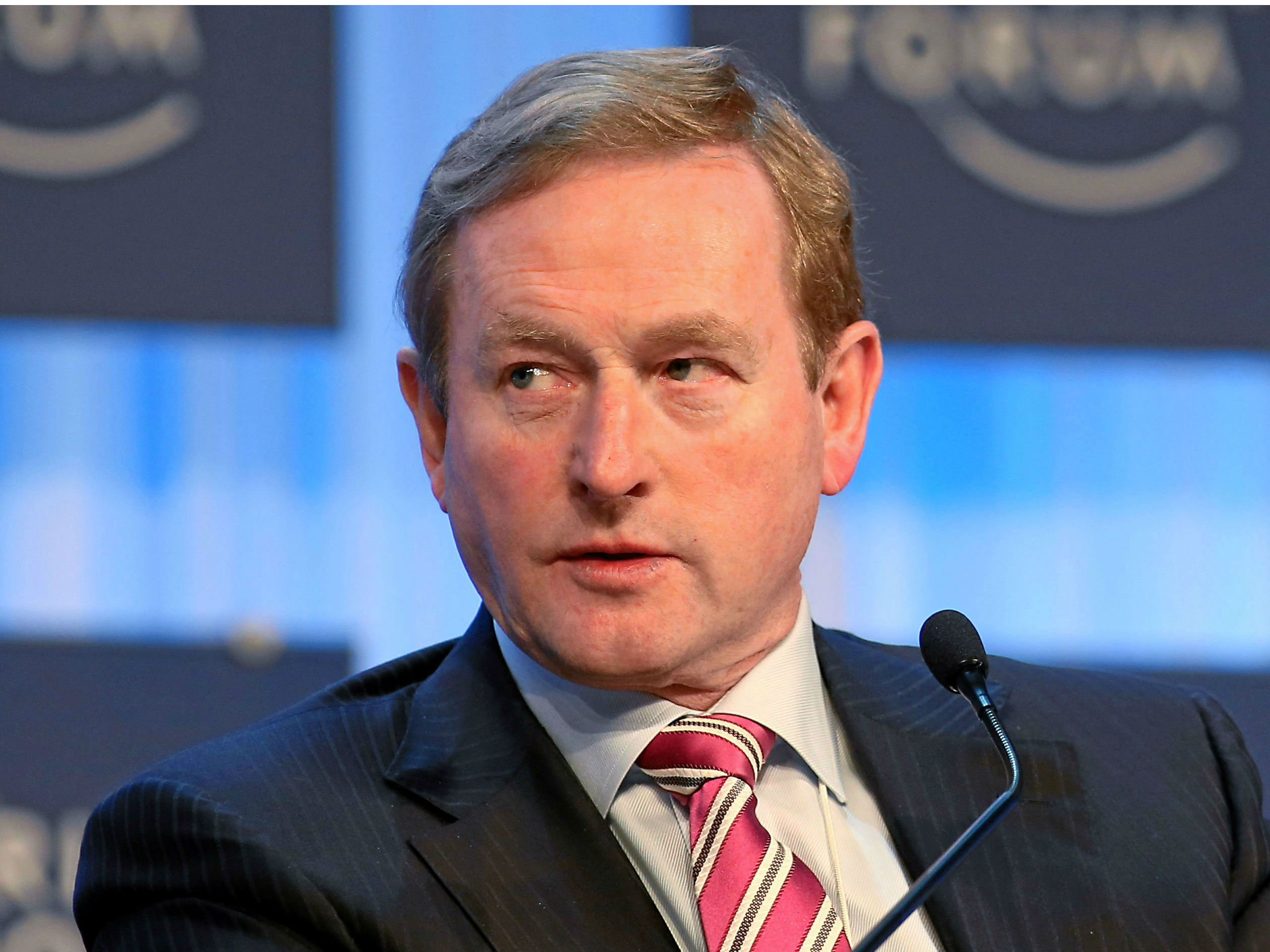 Enda Kenny Stays Tight-Lipped On Gerry Adams