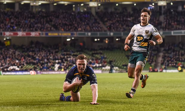 Leinster destroy Northampton at the Aviva