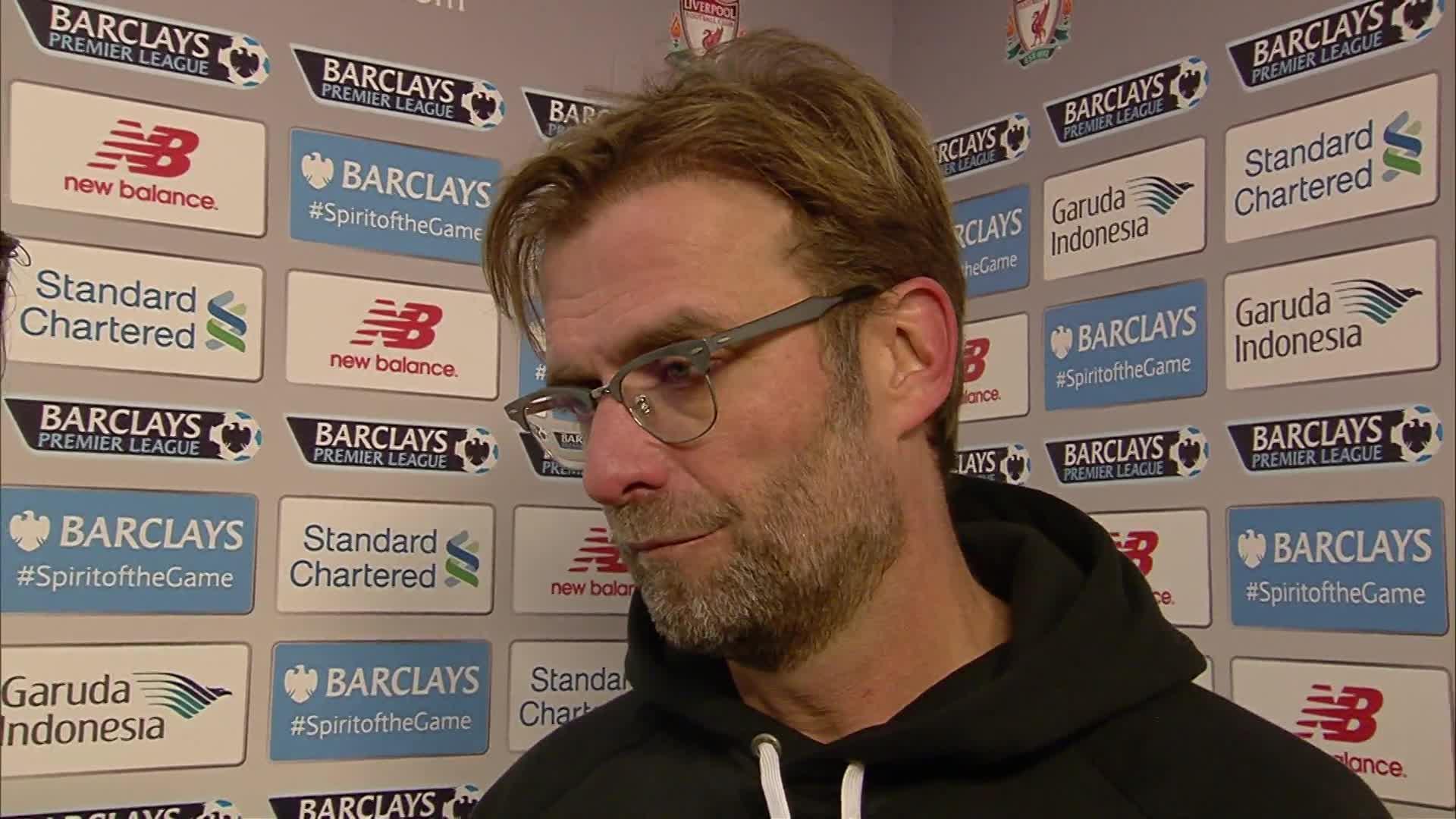 Klopp: 'We just need to keep winning games'