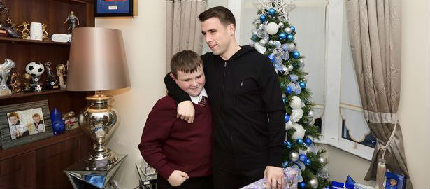 Coleman spreads Christmas cheer!