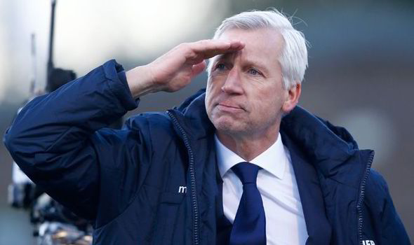 Pardew sacked as Palace manager