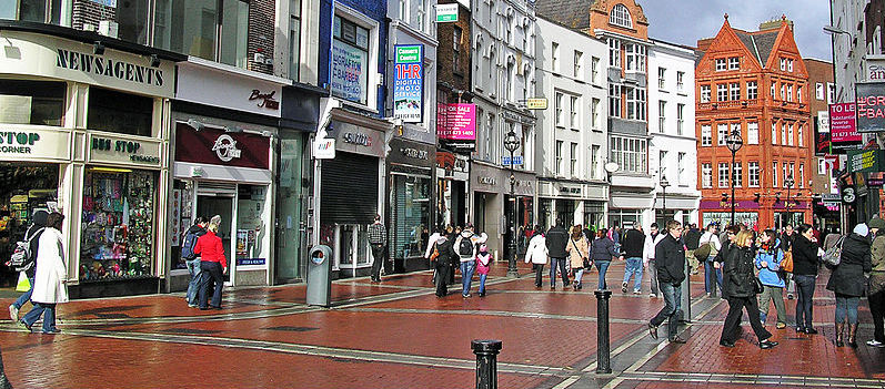 Christmas Shopping Is Booming In Dublin