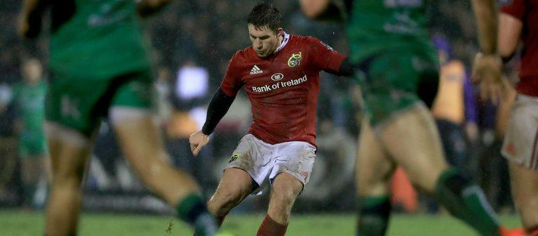 Keatley misses out on Champions Cup trip to Paris
