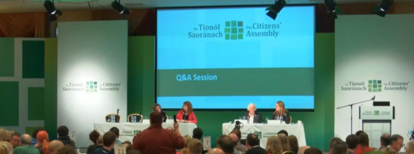 Citizens Assembly Hears Opposing Sides Today