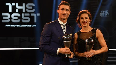 Ronaldo scoops FIFA award