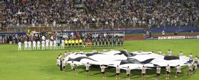 Partizan Belgrade banned by UEFA
