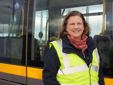 Luas Wants More Women Drivers