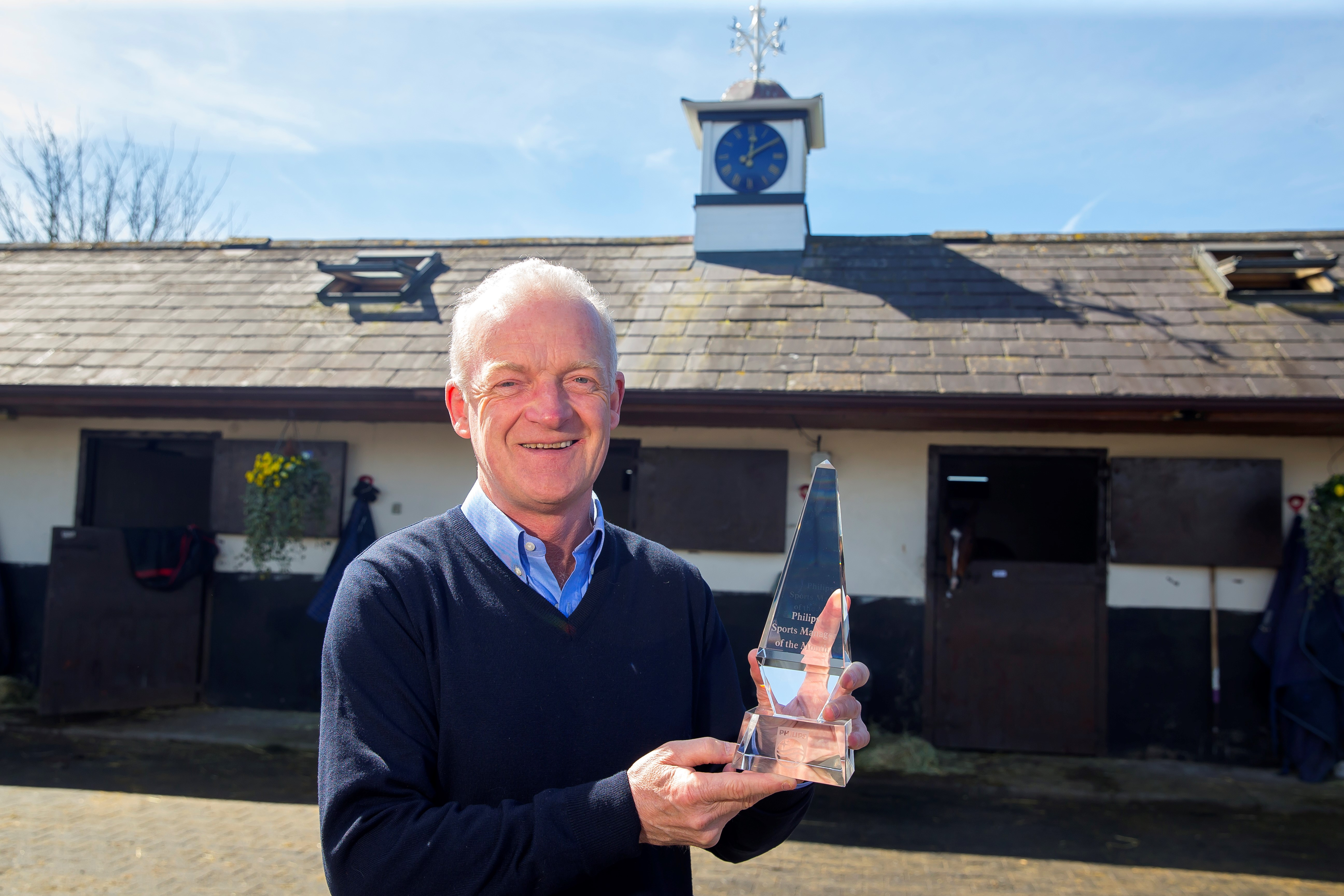 Mullins wins Philips Sports manager of the month for December