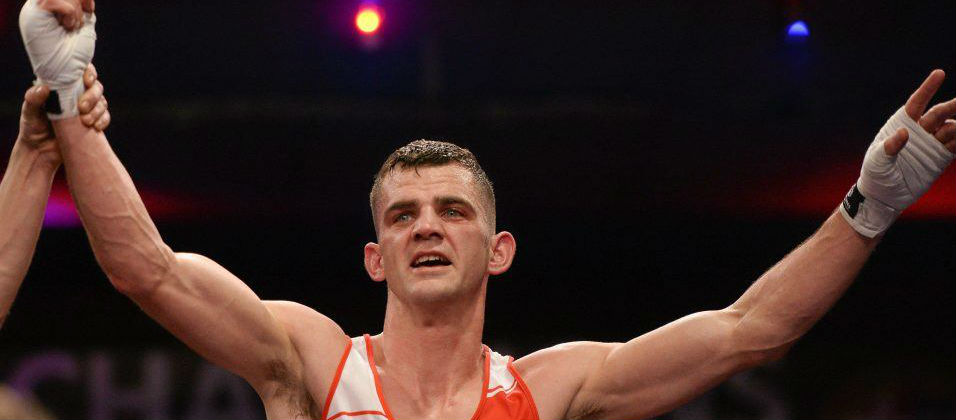 Olympian Nolan hangs up his gloves