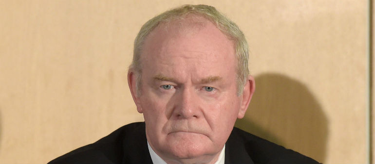 McGuinness Calls It Quits