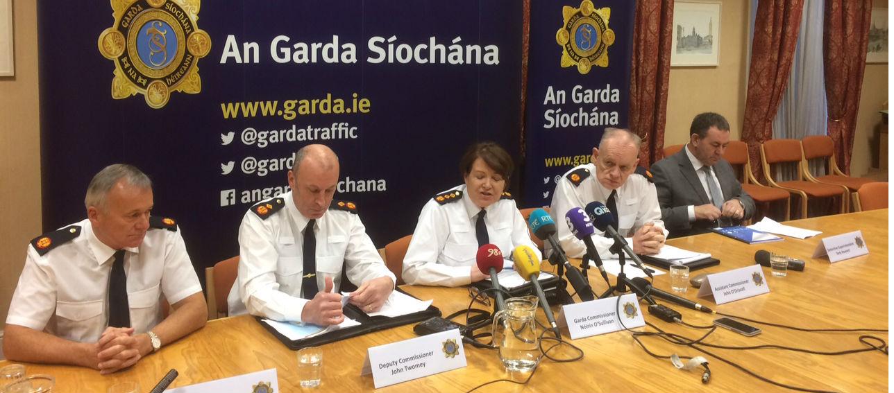 Gardai Save Lives In Crime Crackdown