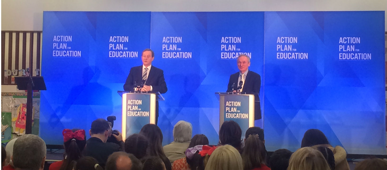 Government Outlines Plan For Education