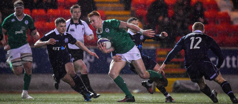 Two changes for Ireland U20's