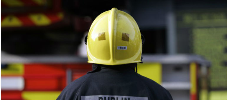 Pair Rescued From City Flat Fire