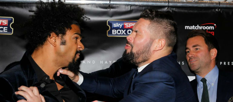 Bellew says Haye fight IS going ahead