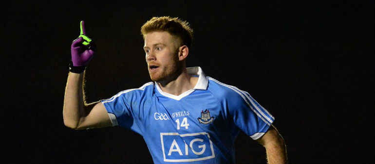 Byrne bags two goals as Dubs march on