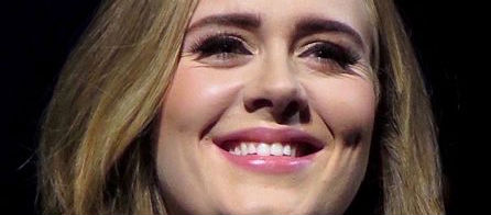 Adele Gives Out To Security