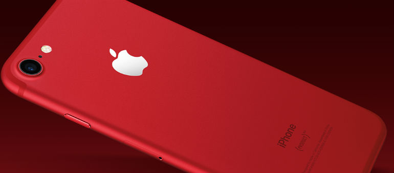Apple In The Red