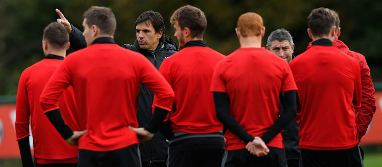 Wales revel in big game pressure!