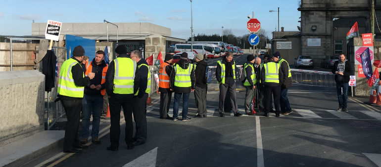Bus Workers Defend Strike Action