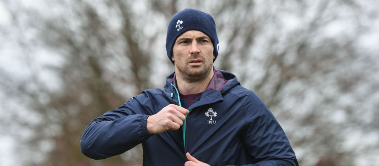 Setback for Rob Kearney