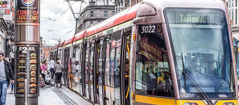 A Pedestrian's Been Hit By A Tram In Dublin