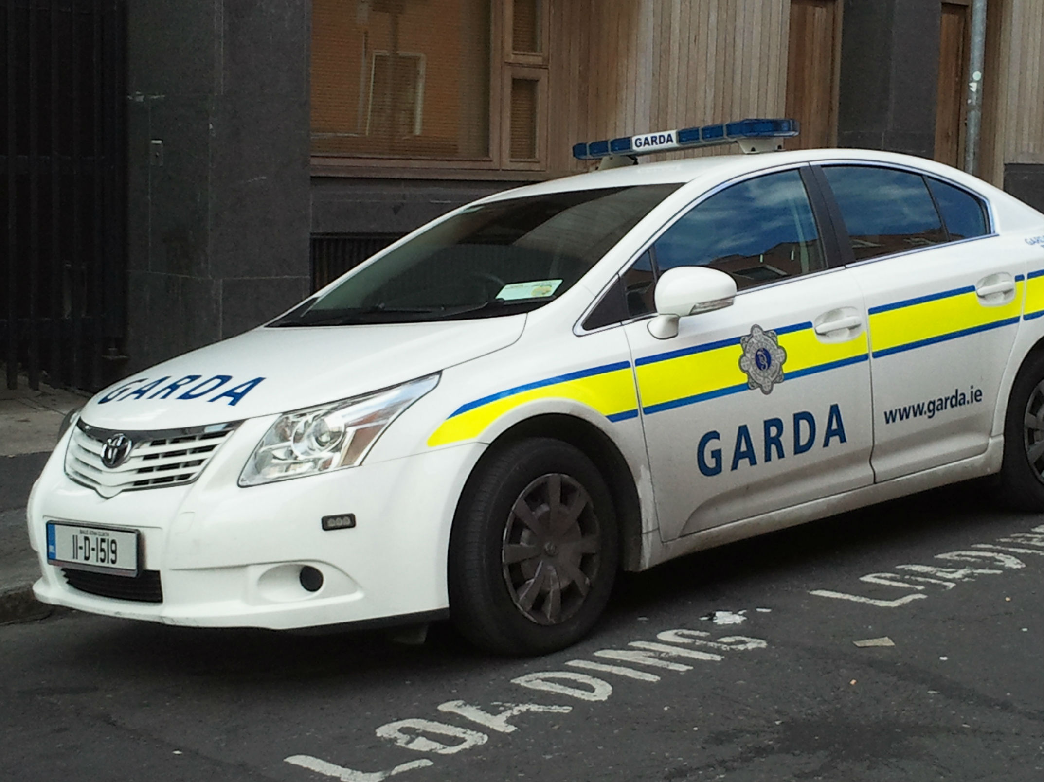 Garda Car Rammed After Armed Raid