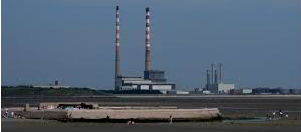 Waste Is Delivered To Poolbeg Incinerator
