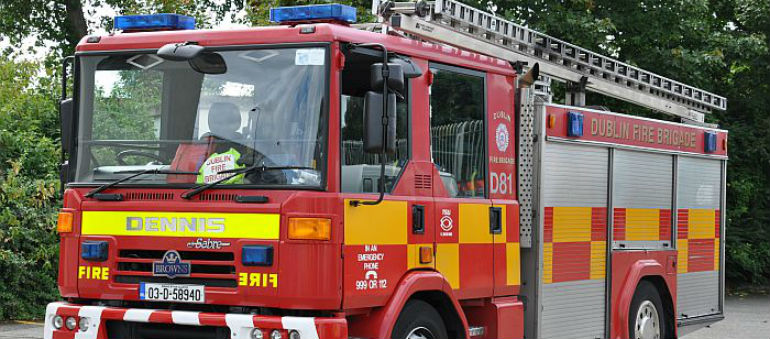 City Blaze Tackled