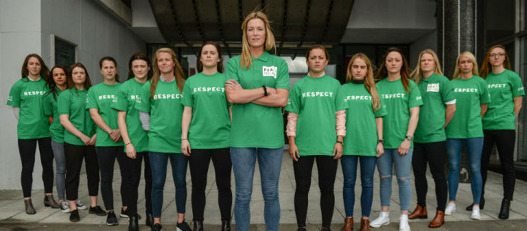 Irish Women Drawn in Tricky Group
