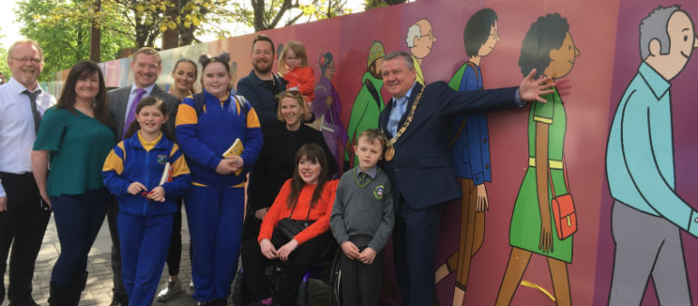 Real-Life Dubs Feature In Docklands Mural