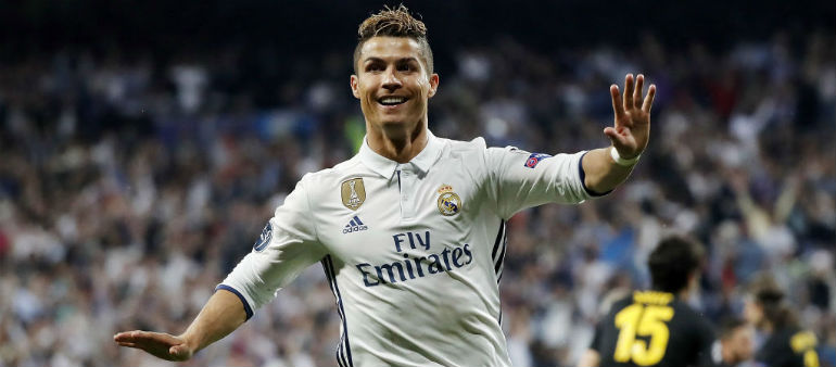 Ronaldo hat-trick puts Real on the brink