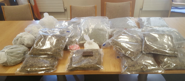 Suspect Held After Drugs Seizure