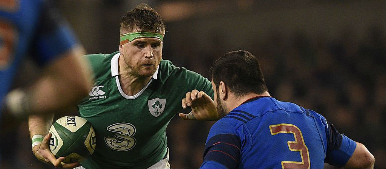 Heaslip more than happy with World Cup draw