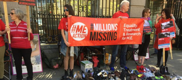 Campaigners Demand Action For M.E. Patients
