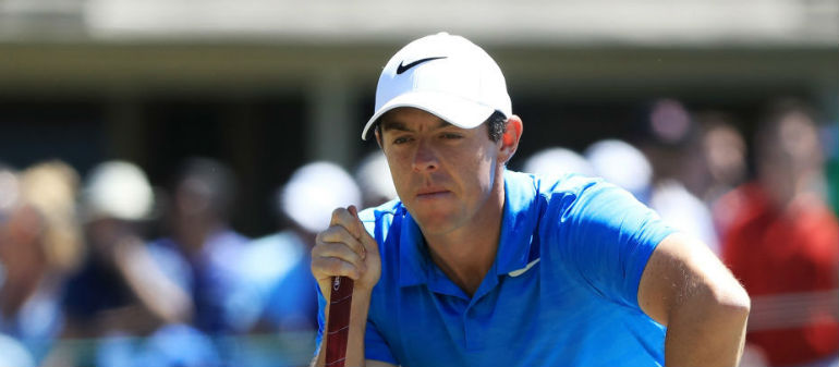 McIlroy battles back problem