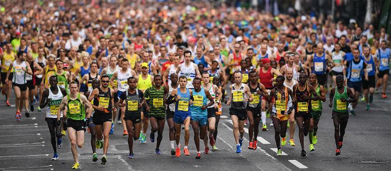 Entries flying in for Dublin Marathon