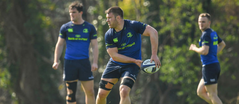 Toner and O'Brien on the bench for Leinster
