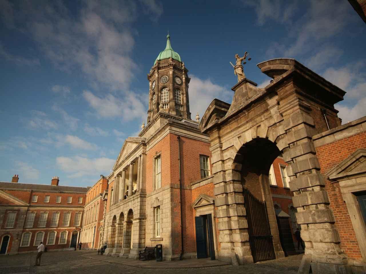 Annual Garda Memorial At Dublin Castle